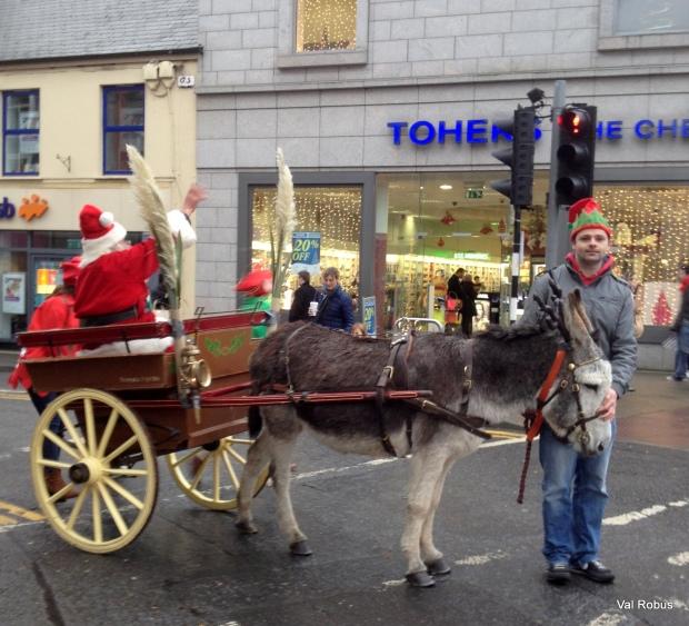 Santa in Sligo