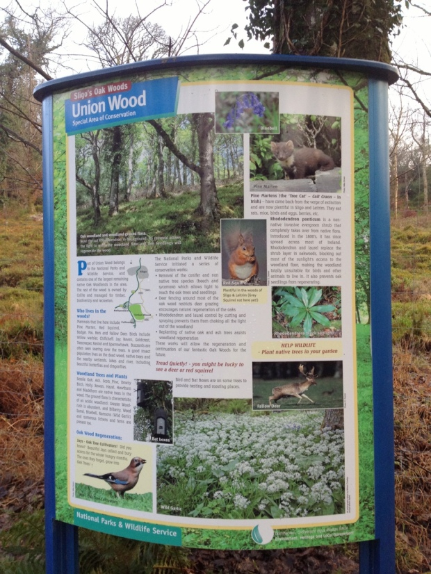 Union Wood sign