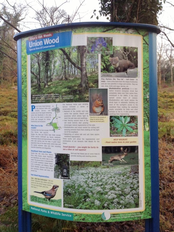Union Wood sign