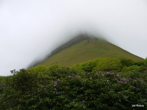 Rainclouds over Benbulben