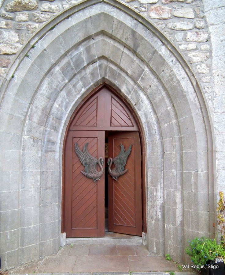 Drumcliff Church Door