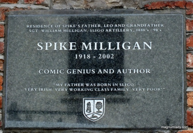 Spike Milligan plaque