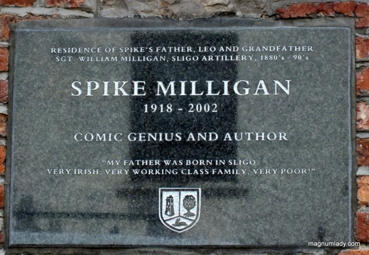 Spike Milligan plaque