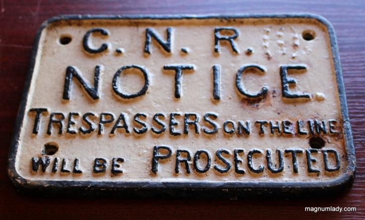 G.N.R sign