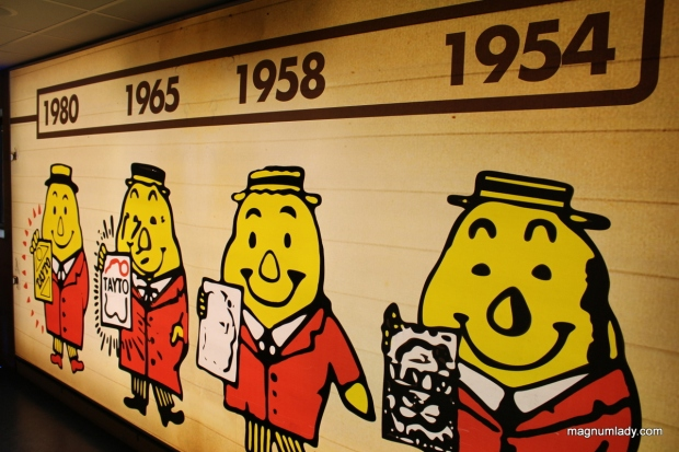 Mr Tayto through the years