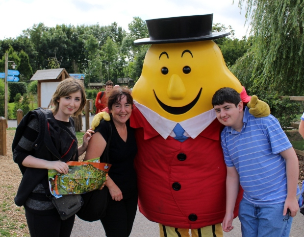 Us at Tayto Park