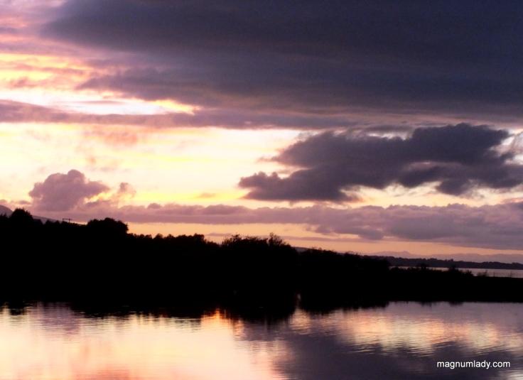 Sunset over Ballisodare Bay