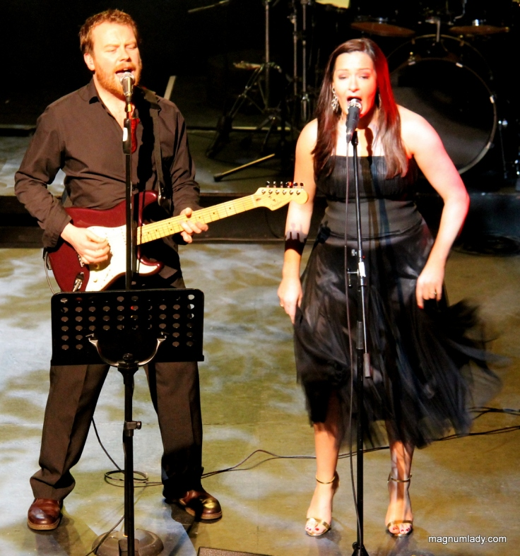 Dave Flynn and Sinead Conway