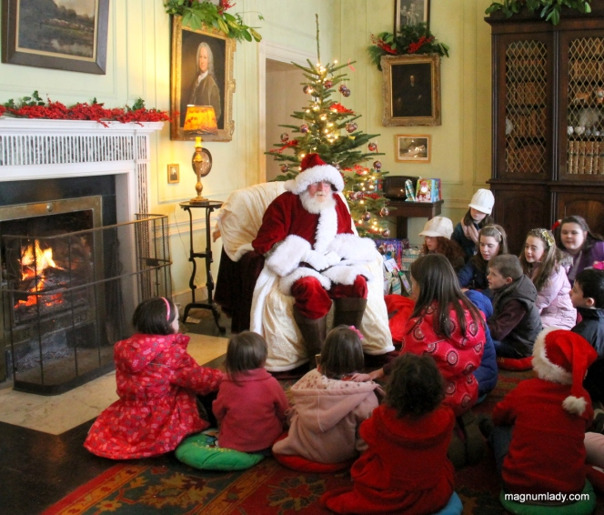 Santa  at Strokestown