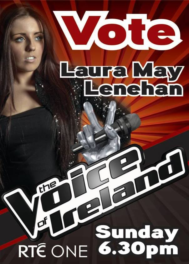 The Voice of Ireland poster