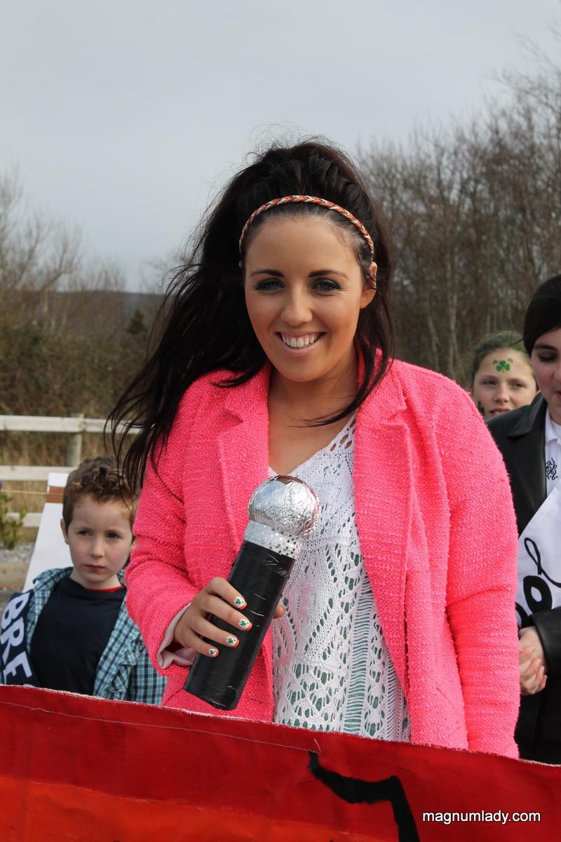 Laura May at the parade