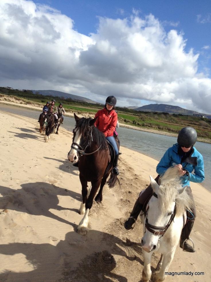 Seatrails on horseback