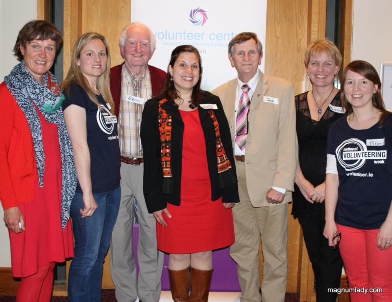 Sligo Volunteer Centre staff and management