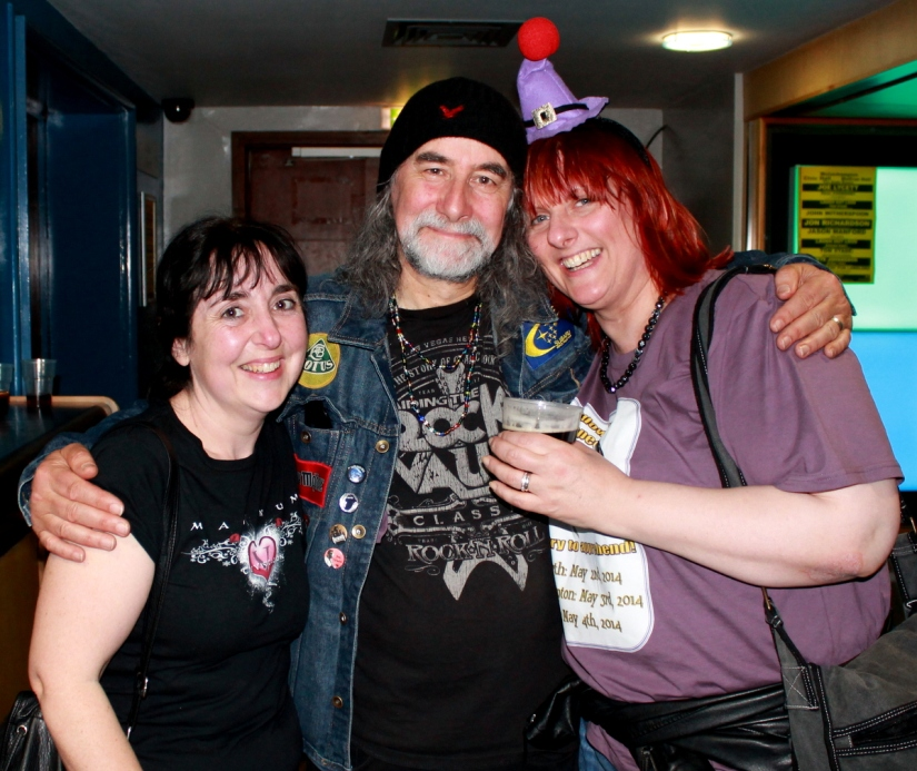 Me, Rodney and Clare