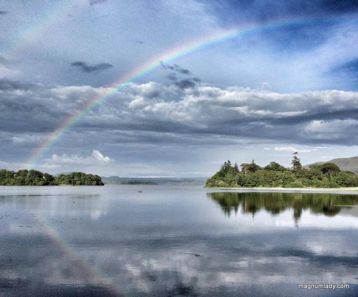 Rainbow over Lough Gill
