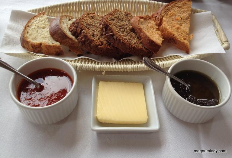 Bread and tapenade