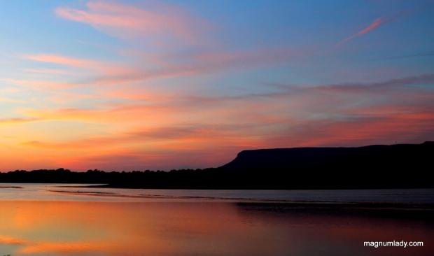 Benbulben sunset