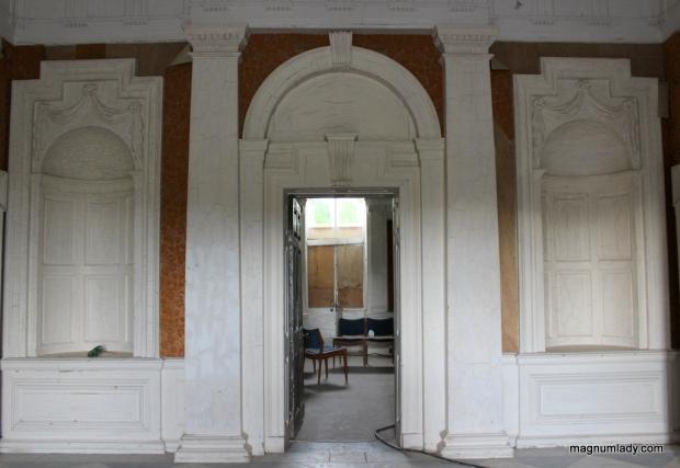 Inside the front door