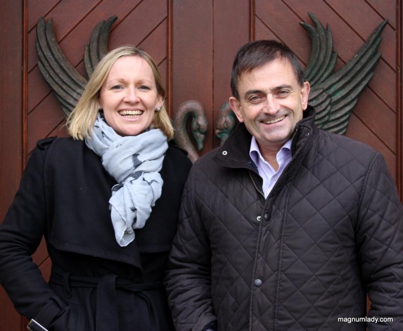 Lucinda Creighton and Eddie Hobbs