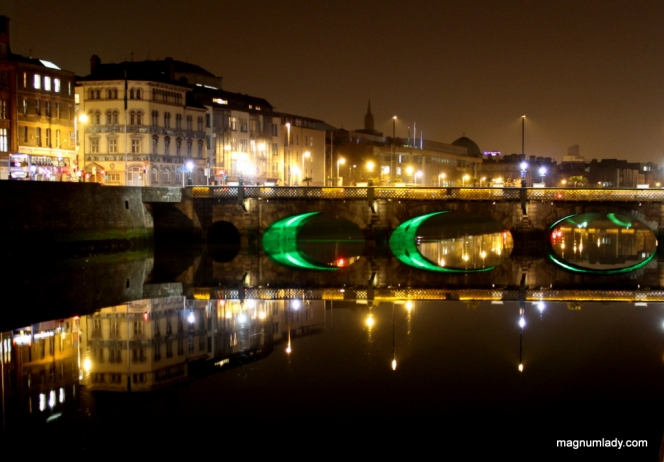 River Liffey Reflections