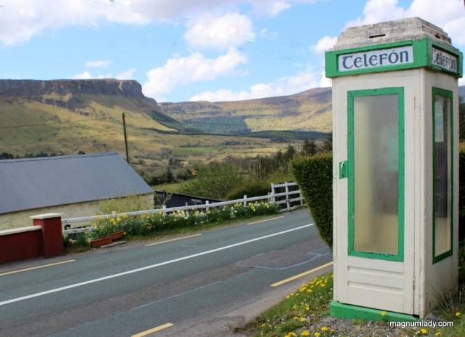 Old Irish Telephone box