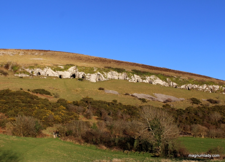 The Caves and the blue sky