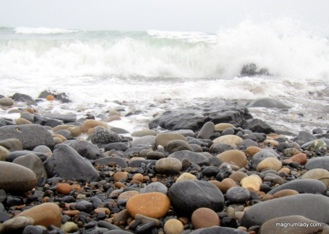pebbles and waves