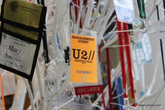 Mary Robinson U2 ticket