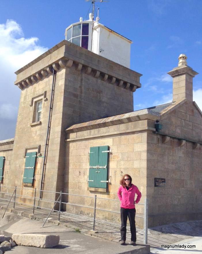 Agatha at Blacksod Lighthouse