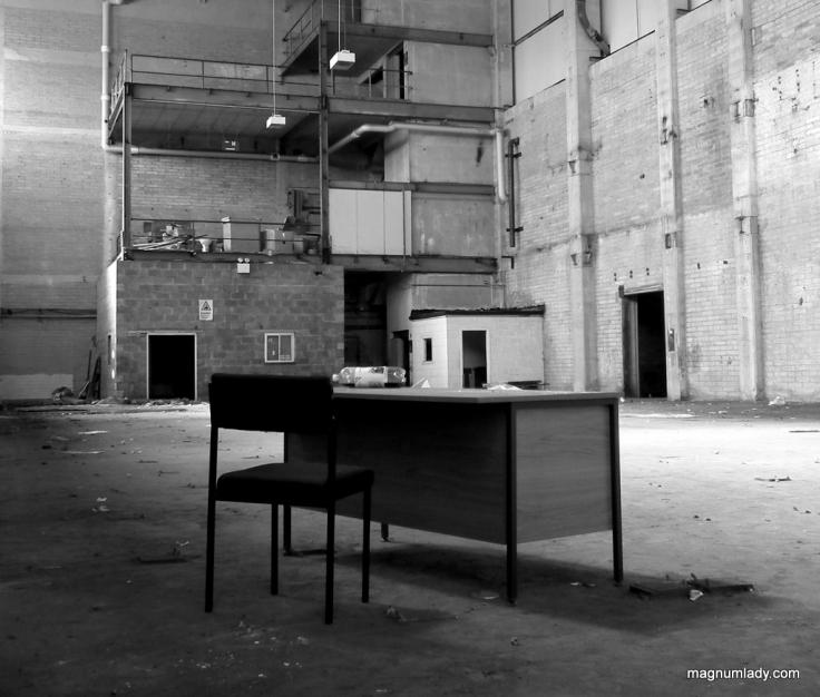 The empty desk