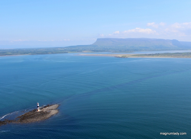 Blackrock Lighthouse and Benbulben