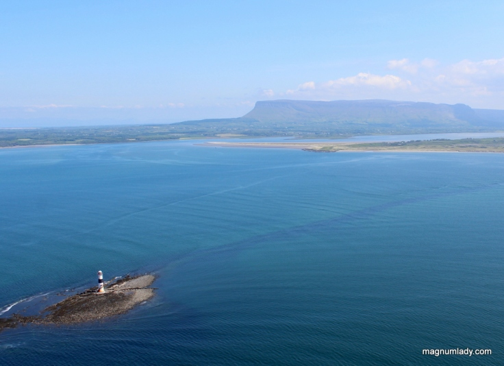 Blackrock Lighthouse and Benbulben