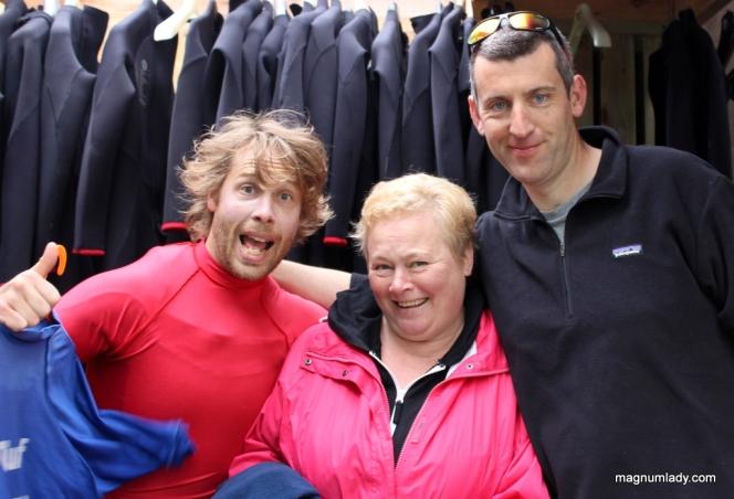 Paul, Una and Killian