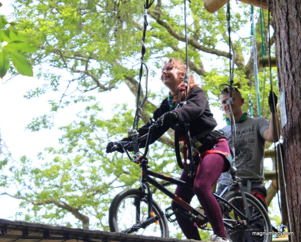 Treetop cycling