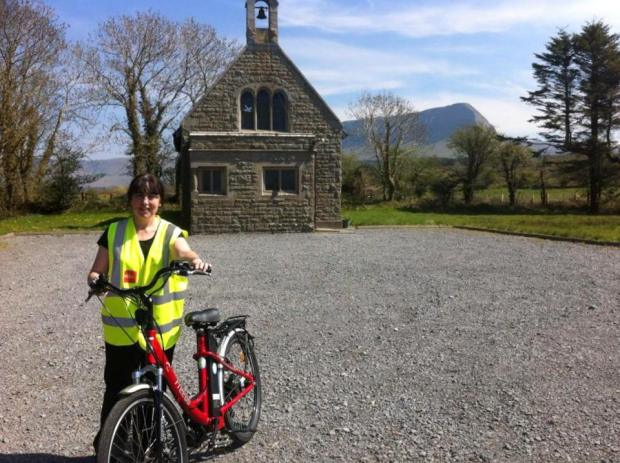 Cycling around Sligo