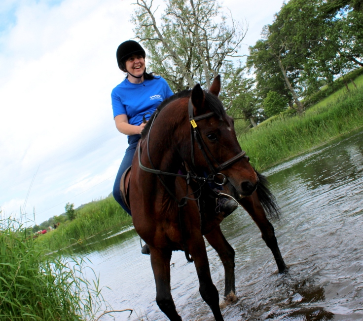 Horseriding in Markree
