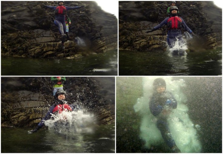 Coasteering with Wave Sweeper