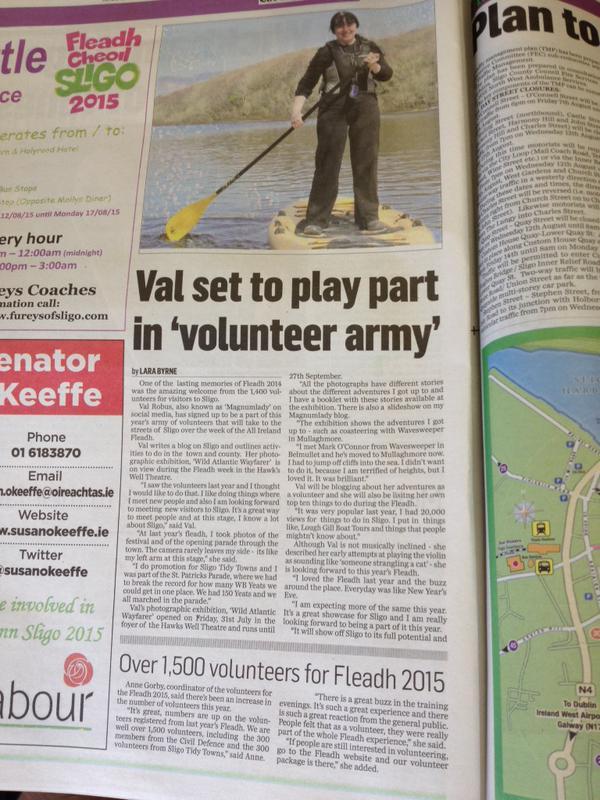 Sligo Champion article