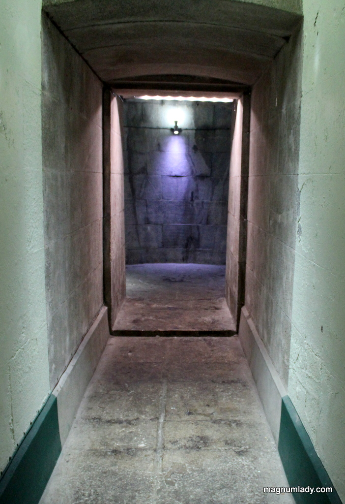 Passage way to the tower
