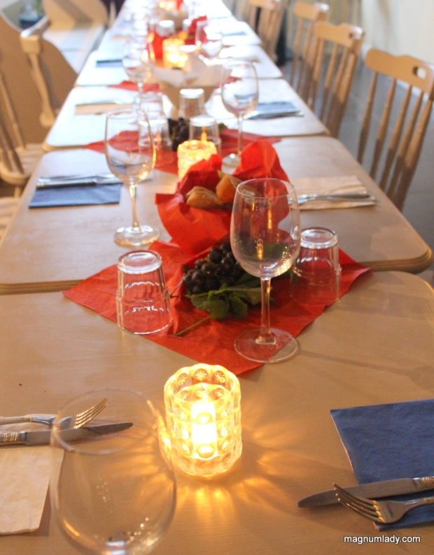 French themed table