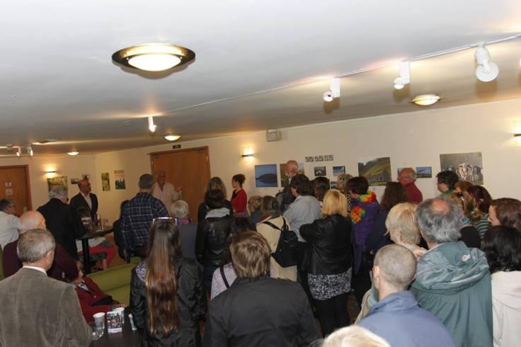 Great crowd - photo by Eilish McGowan