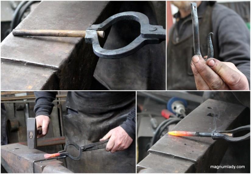 Making a coat hook