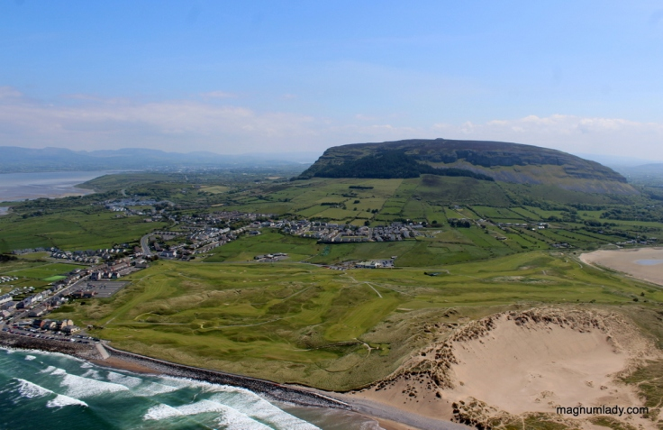 Strandhill and Knocknarea, Sligo