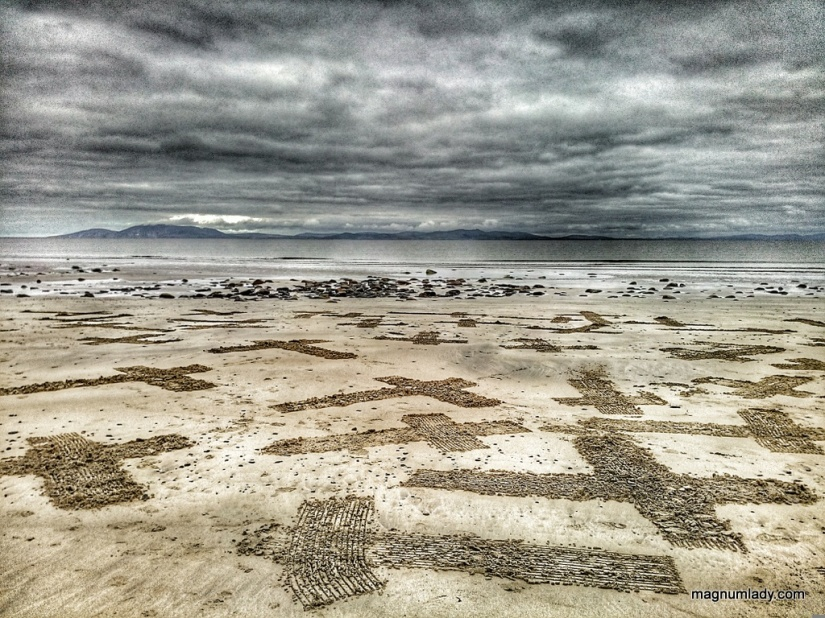 Crosses in the sand