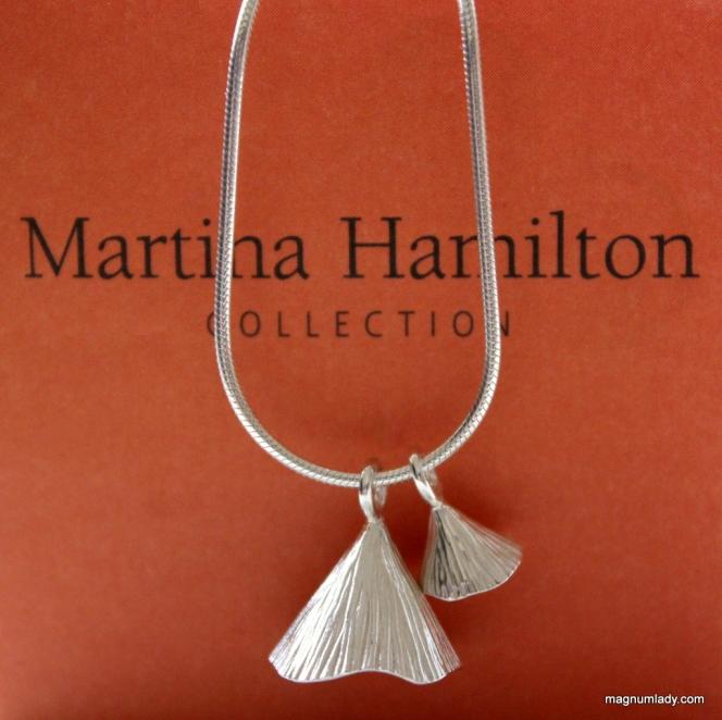 Martina Hamilton Shell Cone Double Pendant