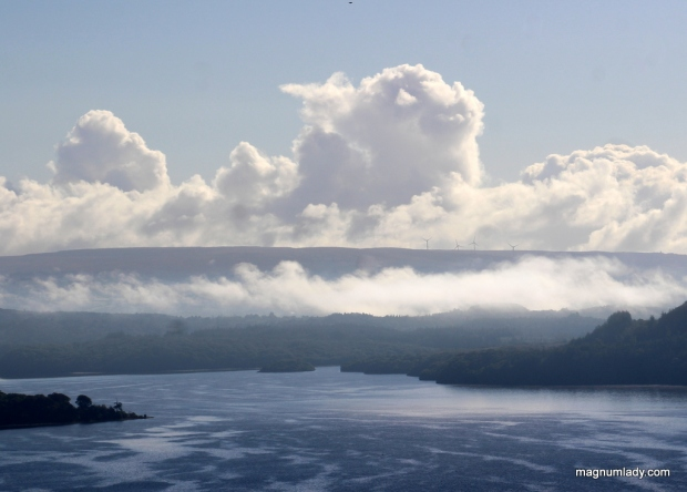 Clouds over Lough Gill