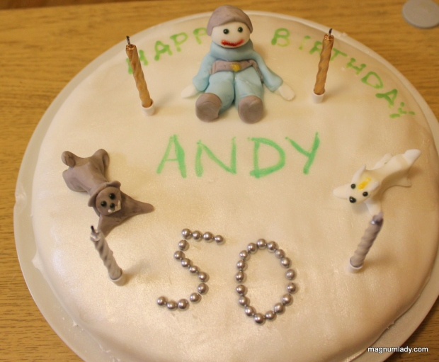 Andy's cake