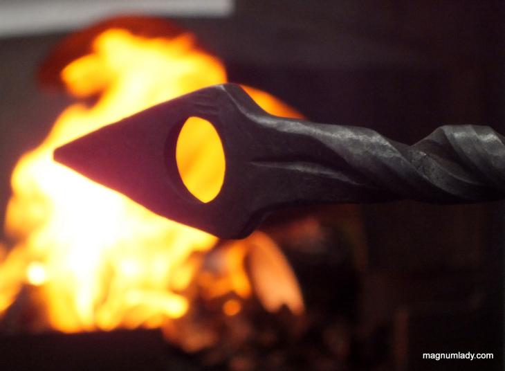 Blacksmith lesson