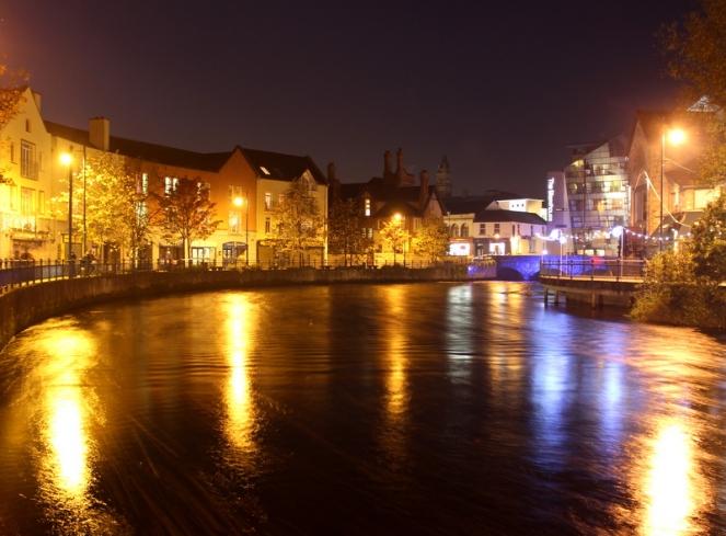 Sligo at night