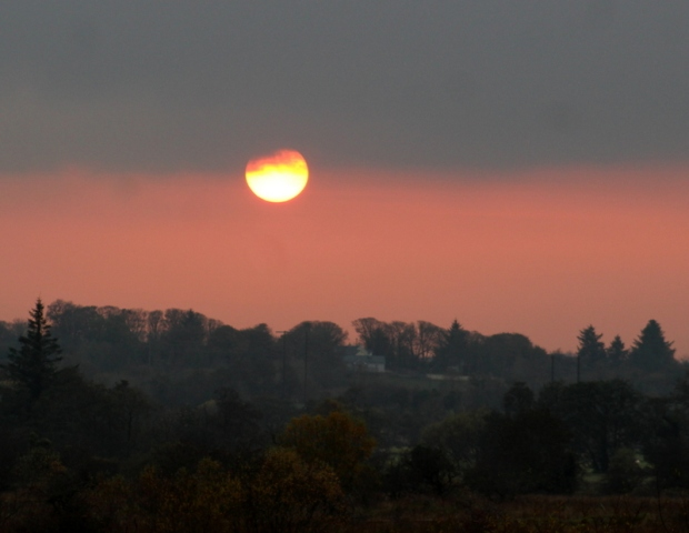 Sunset in Coolaney